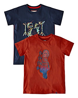 Joe Browns Boys Pack of 2 Tees