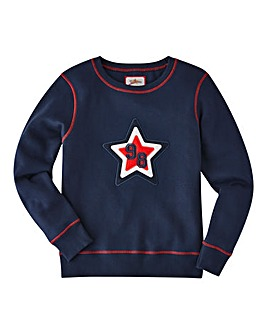 Joe Browns Boys Crew Neck Sweatshirt