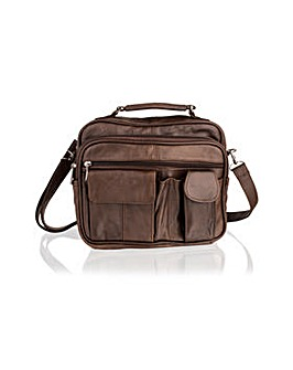 Woodland Leather Medium Travel Bag
