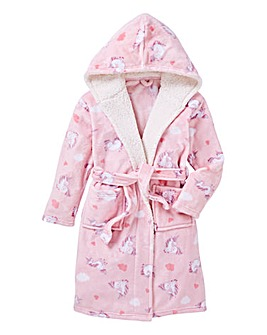 KD Girls Unicorn Dressing Gown