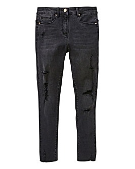 KD Older Girl Skinny Ripped Jean