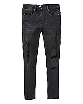 Girl Distressed Skinny Jean
