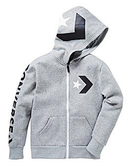 Converse Boys Chevron Full-Zip Hoodie
