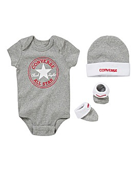 Converse Baby Boy 3 Piece Gift Set