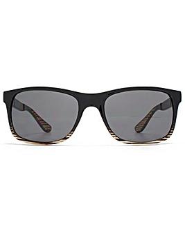 Ben Sherman Rectangle Plastic Sunglasses