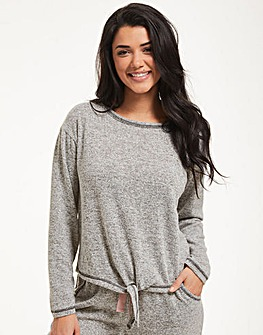 Figleaves Super Soft Tie Front Top
