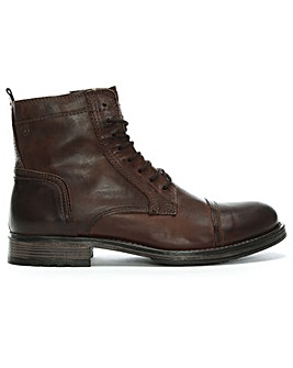 Jack & Jones Russel Leather Ankle Boots