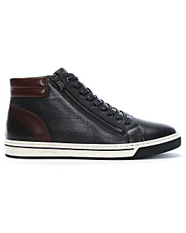 Daniel Hove Leather High Top Trainers