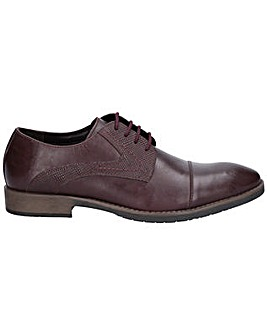 Hush Puppies Derby Plain Toe Shoe