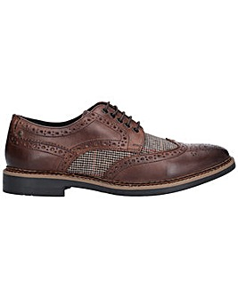 Base London Rothko Waxy Tweed Brogue