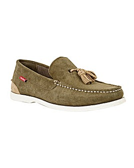 Chatham Verde Tassel Loafers