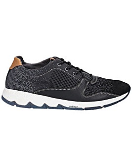 Hush Puppies Field Knit Lace Up Trainer
