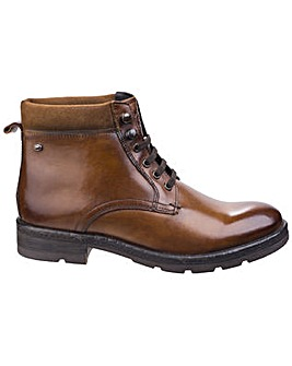 Base London Panzer Washed Work Boot
