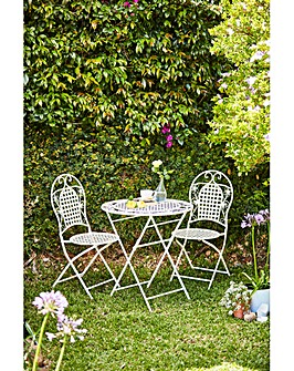 Butterfly Metal Bistro Set