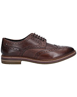 Base London Rothko Waxy Print Brogue