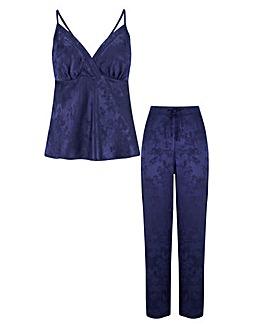 Pour Moi Jacquard Satin Cami Pyjama