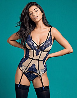 Figleaves Strapping Underwired Basque