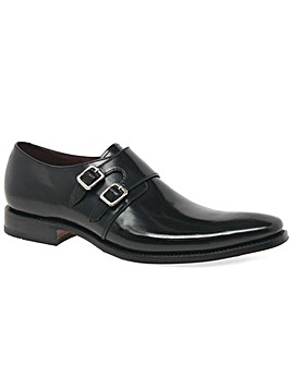Loake Mercer Mens Formal Monk Strap Shoe