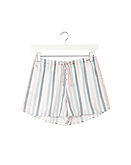 Pretty You London Mix and Match Candy Pyjama Short for Women