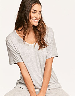 DKNY Core Essentials Short Sleeved Top