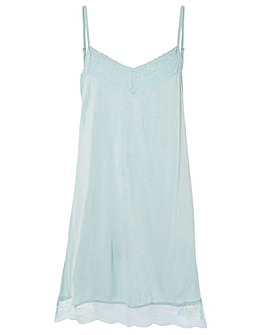 Accessorize LACE TRIM SLIP DRESS