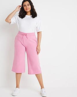 Pink Wide Leg Joggers