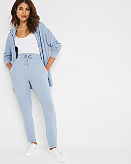 Blue Soft Touch Jogger