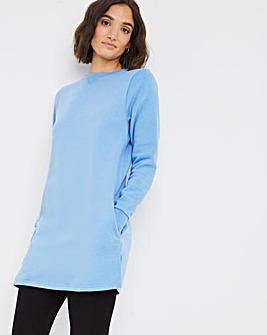 Blue Sweat Tunic