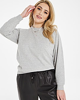 Grey Crew Value Sweatshirt