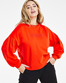 New York Embroidered Sweatshirt
