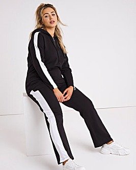 Colour Block Wide Leg Jogger