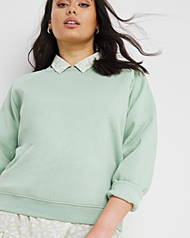 Sage Crew Neck Sweatshirt