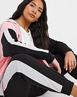 Colour Block Side Stripe Joggers