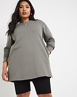 Khaki Sweat Tunic