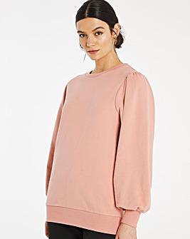 Puff Sleeve Sweatshirt
