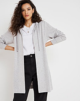 Soft Touch Layering Longline Cardigan