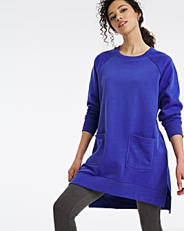 Pocket Front Sweat Tunic
