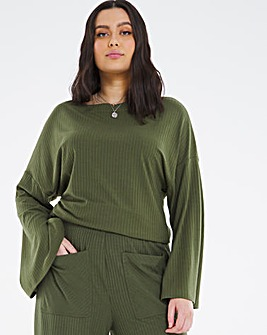 Soft Touch Split Sleeve Top