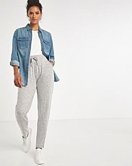 Grey Marl Soft Touch Jogger