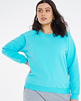 Crew Neck Boxy Sweatshirt