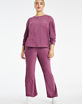 Cosy Skinny Flare Trouser