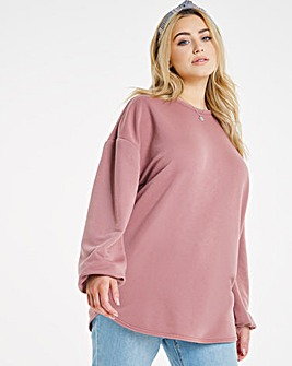 Loopback Sweat Tunic