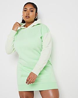 Colour Block Sweat Dress