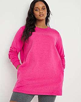 Hot Pink Sweat Tunic