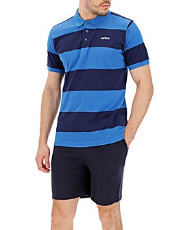 Mitre Stripe Polo Regular