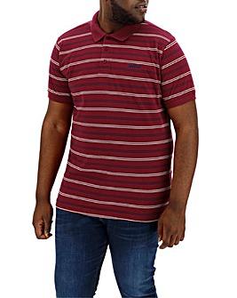 Mitre Stripe Polo Long