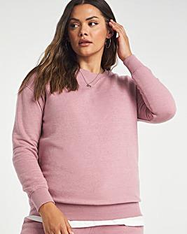 Mauve Plain Sweatshirt