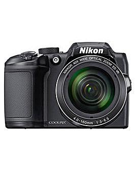 Nikon B500 16MP Bridge Camera Bundle