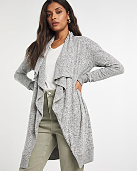 Soft Touch Waterfall Cardigan