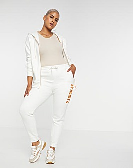 St Moritz Embroidered Cuffed Joggers